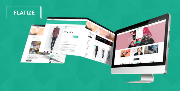 ThemeForest Flatize Fashion eCommerce PSD Template 7315055