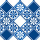 Set of Seamless Patterns - Blue Ceramic Tiles - GraphicRiver Item for Sale