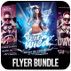 Glowing Party Flyer Bundle - GraphicRiver Item for Sale
