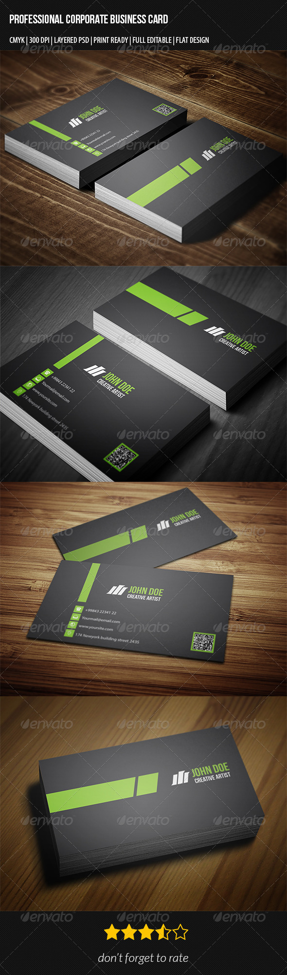 GraphicRiver Professional Corporate Business Card 7301939