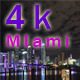 Miami Downtown At Night - VideoHive Item for Sale