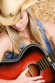 Country Guitar Girl - PhotoDune Item for Sale