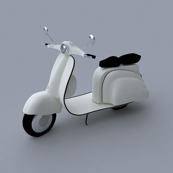 3DOcean Scooter 3D Model 7315872