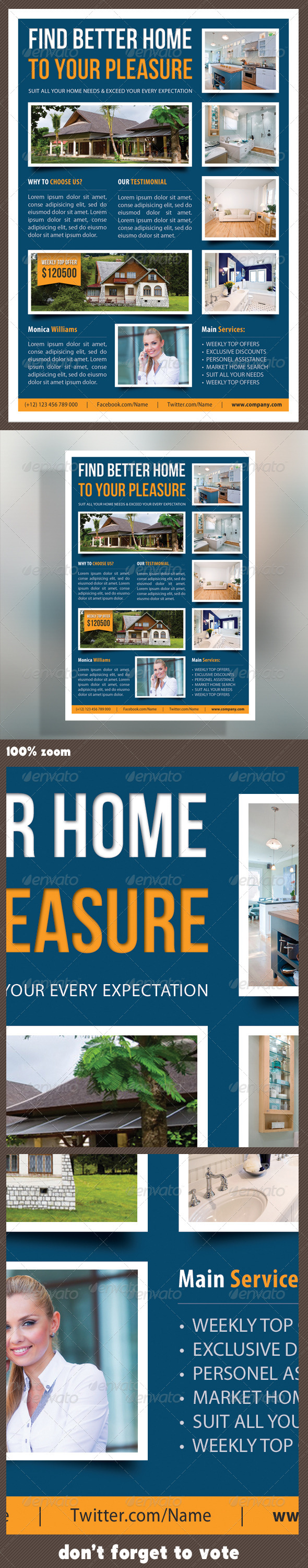 GraphicRiver Real Estate Corporate Flyer 10 7315879