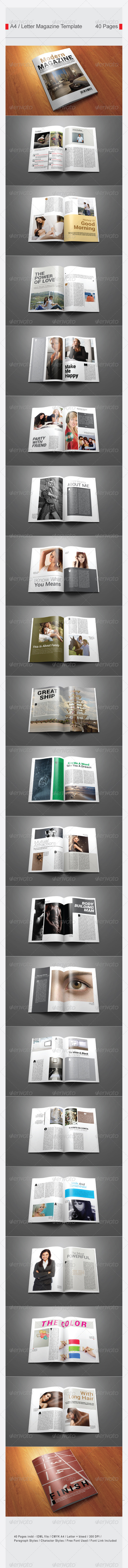 GraphicRiver Multi Purpose Magazine Template V.3 7316995