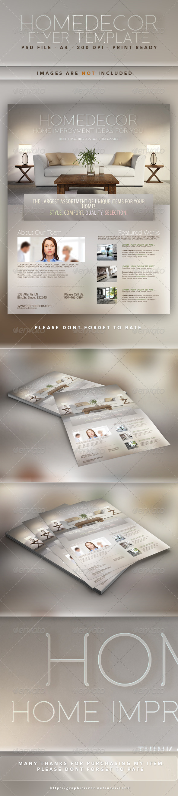GraphicRiver Home Decor Flyer Template 7317059