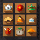 Chinese Culture Symbols and Elements - GraphicRiver Item for Sale