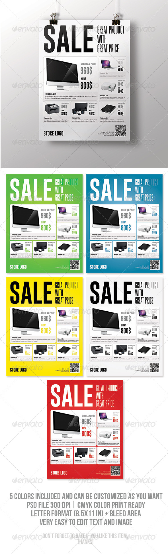 GraphicRiver Sale Flyer 7318250