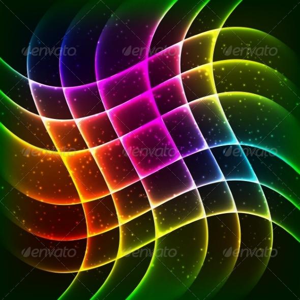 GraphicRiver Rainbow Background 7318252