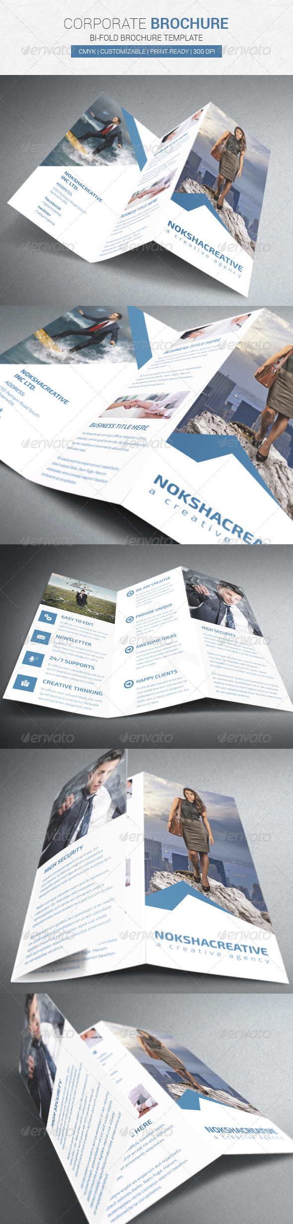 GraphicRiver Corporate Tri-Fold Brochure 7318253