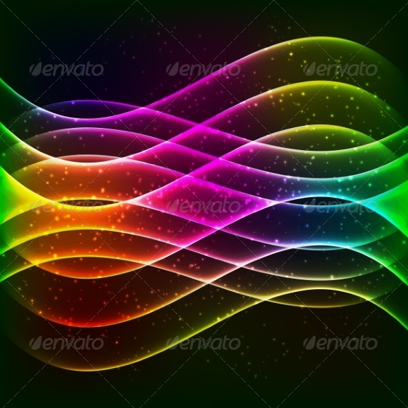 GraphicRiver Rainbow Background 7318270