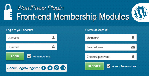 CodeCanyon Front-end Membership Modules 7005094