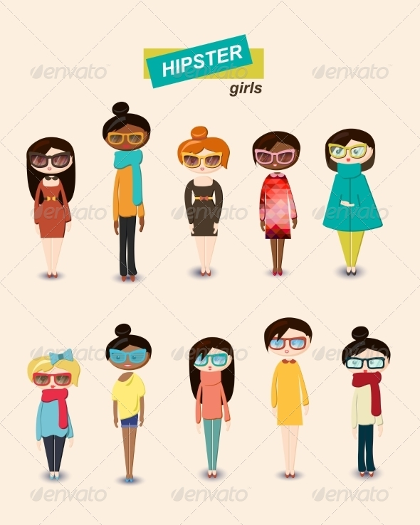 GraphicRiver Girls 7318472