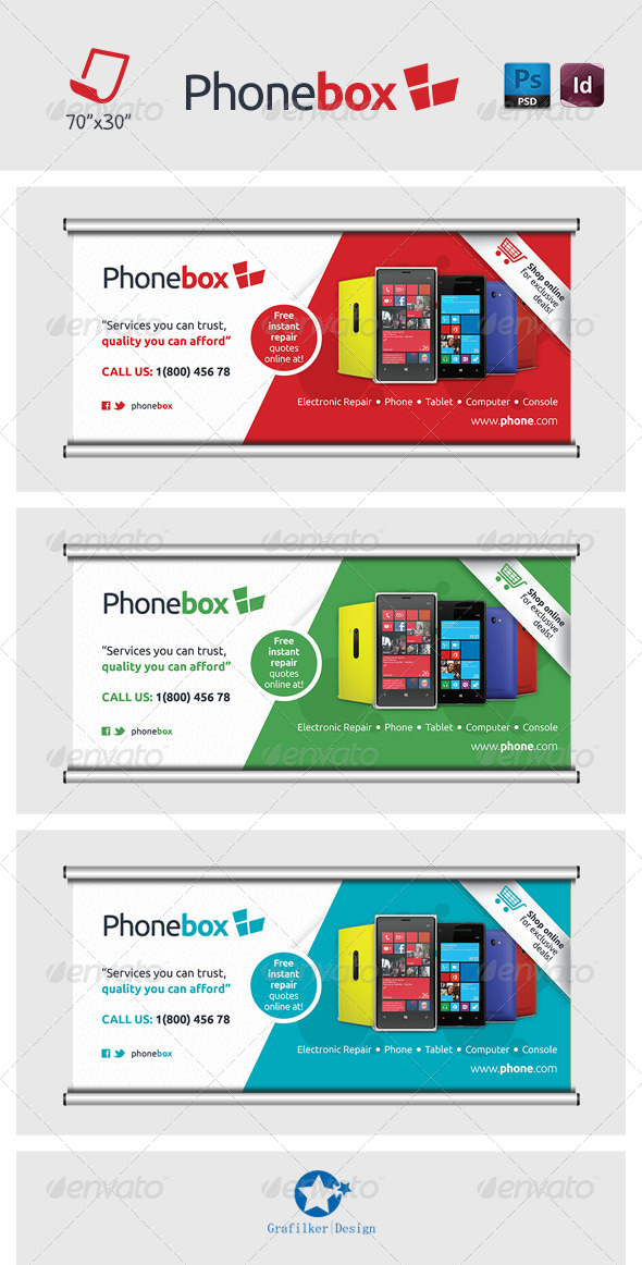 GraphicRiver Technology Billboard Templates 7298584