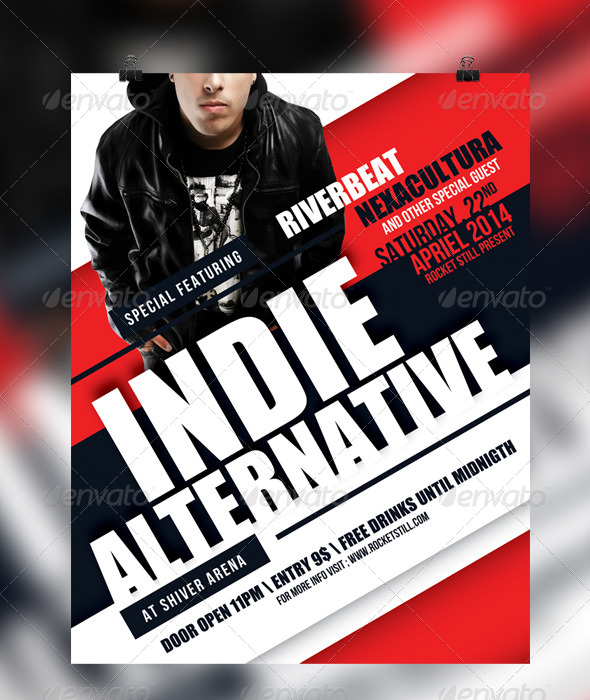 GraphicRiver Indie Flyer Template 7319466