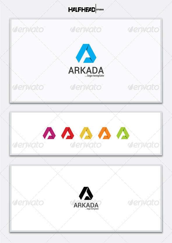 GraphicRiver Arkada Logo Template 7320123