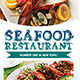 Trifold Seafood Menu - GraphicRiver Item for Sale