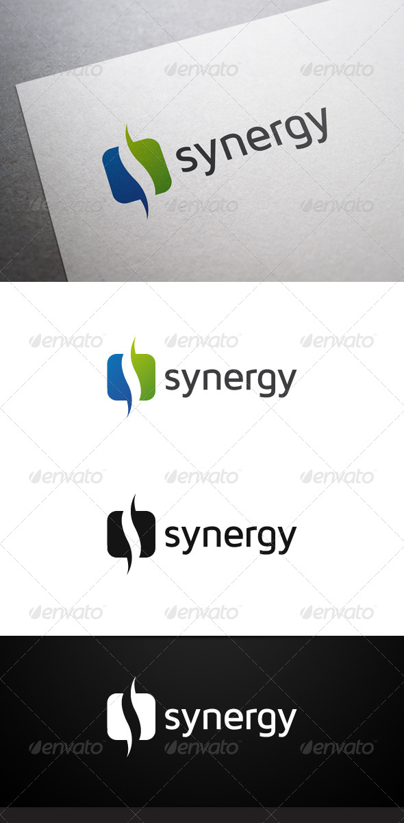 GraphicRiver Synergy Logo 7320971