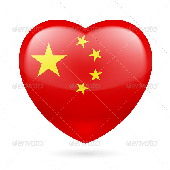 GraphicRiver Heart Icon of China 7321207