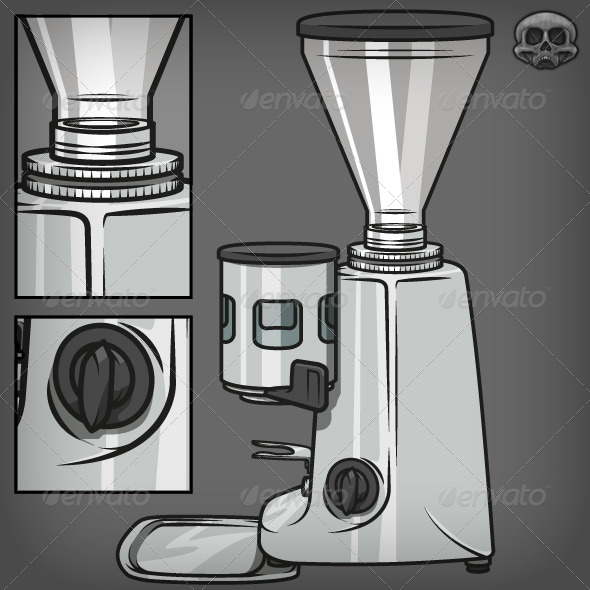 GraphicRiver Coffee Grinder 7321289