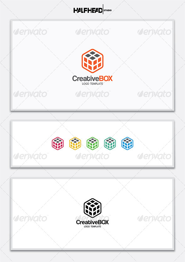 GraphicRiver CreativeBOX Logo Template 7321342