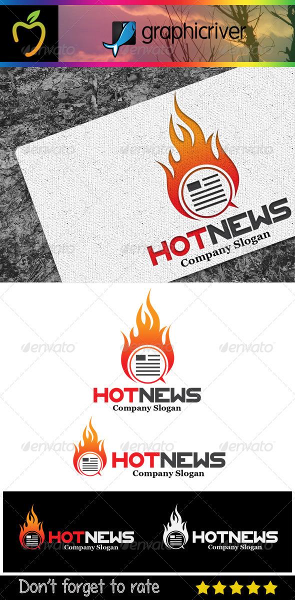 GraphicRiver Hot News Logo 7321344