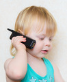 small blond boy cell phone - PhotoDune Item for Sale
