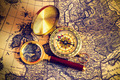 compass and magnifying glass - PhotoDune Item for Sale