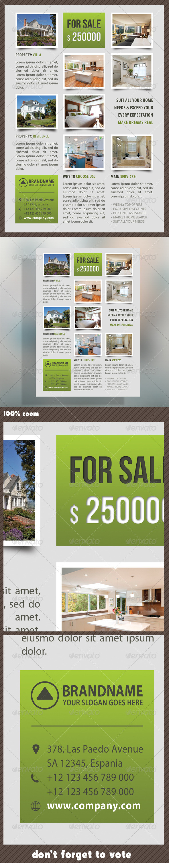 GraphicRiver Real Estate Corporate Flyer 11 7321866