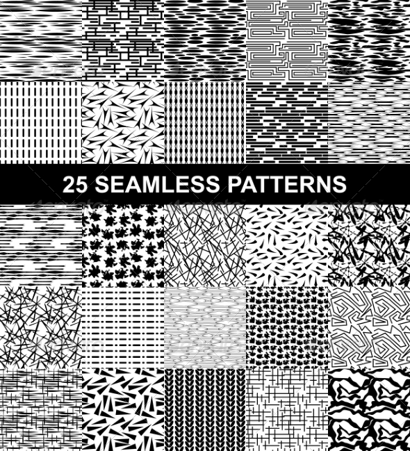 GraphicRiver Set of Seamless Patterns 7321878