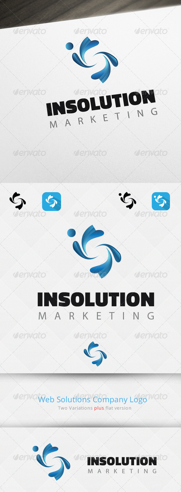 GraphicRiver Abstract S Letter Logo Template 7069200