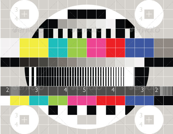 GraphicRiver TV Test Pattern 7322071