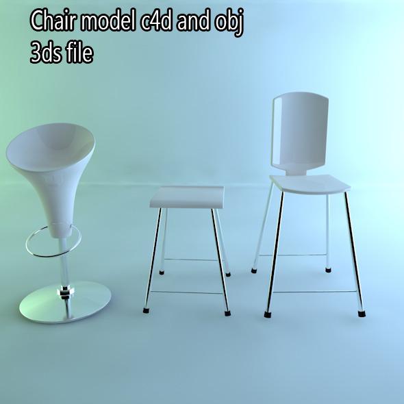 3DOcean chair 7322734