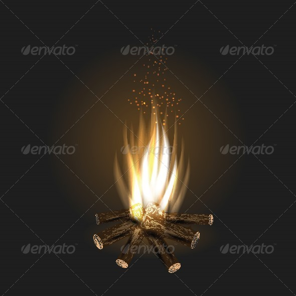 GraphicRiver Bonfire 7322788