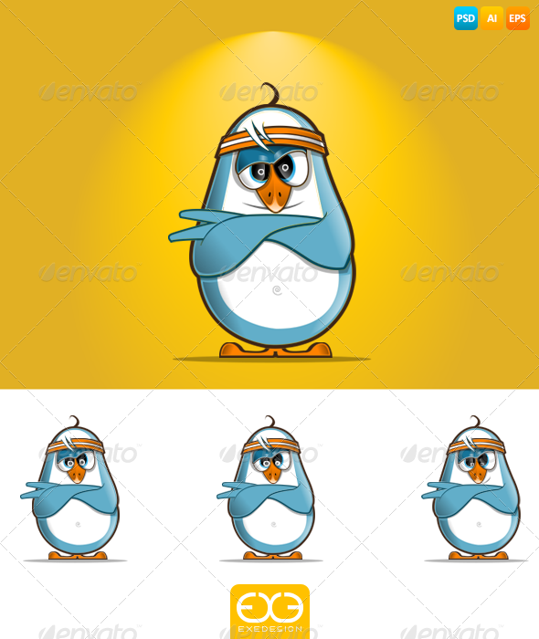 GraphicRiver Penguin 7323196
