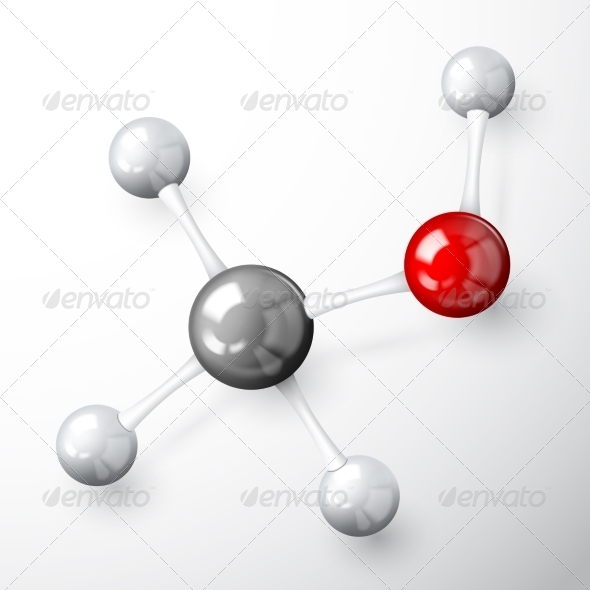 GraphicRiver Molecule Model Concept 7323284