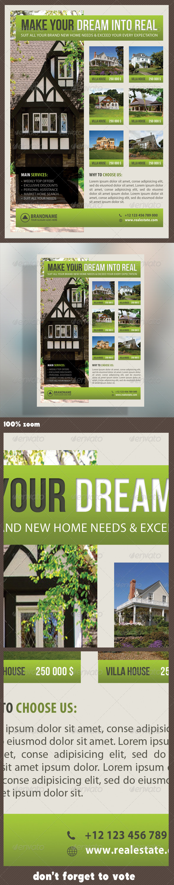 GraphicRiver Real Estate Corporate Flyer 12 7323478