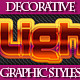 Set of Various Graphic Styles for Adobe Illusrator - GraphicRiver Item for Sale