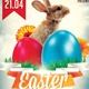 Easter Bash Flyer Template v3 - GraphicRiver Item for Sale