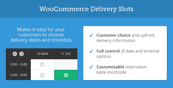 CodeCanyon WooCommerce Delivery Slots 7323634