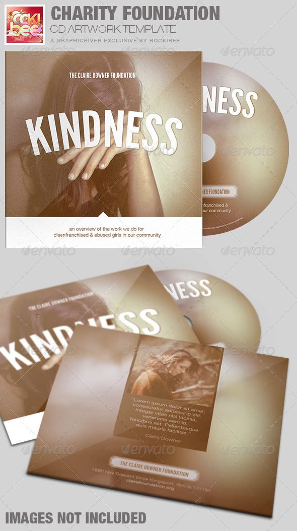 GraphicRiver Charity Foundation CD Artwork Template 7323764