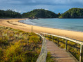 Entrance to a Deserted Beach in Northland, New Zealand - PhotoDune Item for Sale