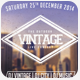 Vintage Flyer Vol.3 - GraphicRiver Item for Sale