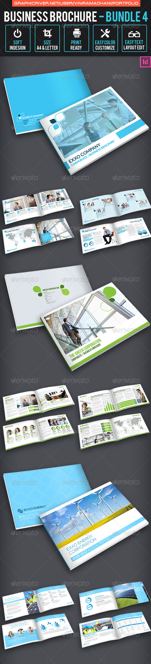 GraphicRiver Business Brochure Bundle 4 7324615