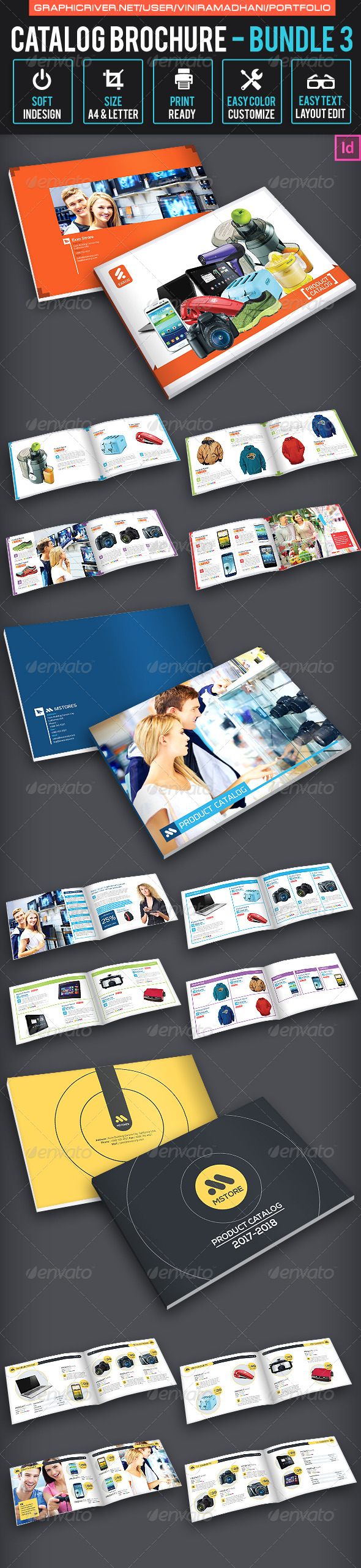 GraphicRiver Catalog Brochure bundle 3 7324620