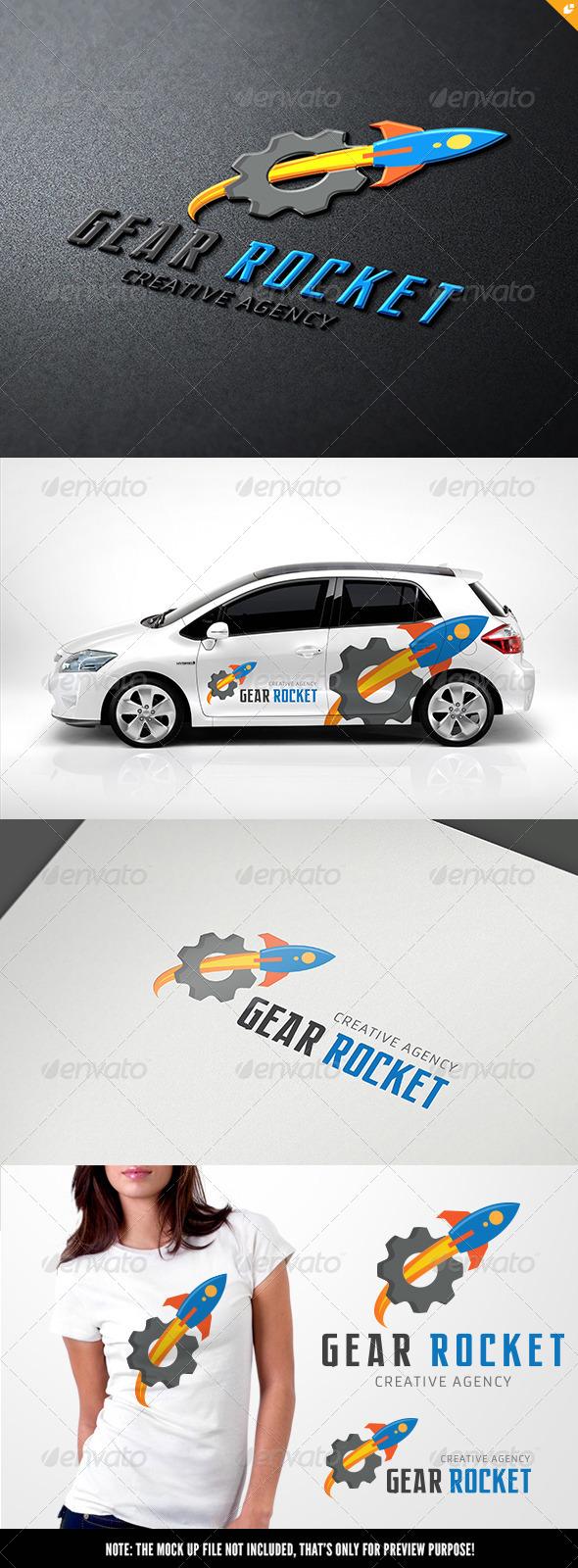 GraphicRiver Gear Rocket 7324840