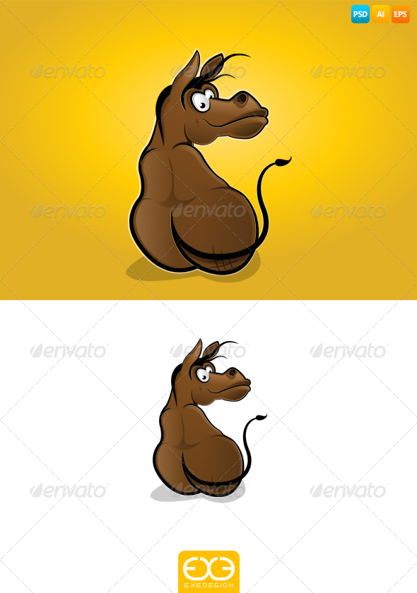 GraphicRiver Donkey 7324952