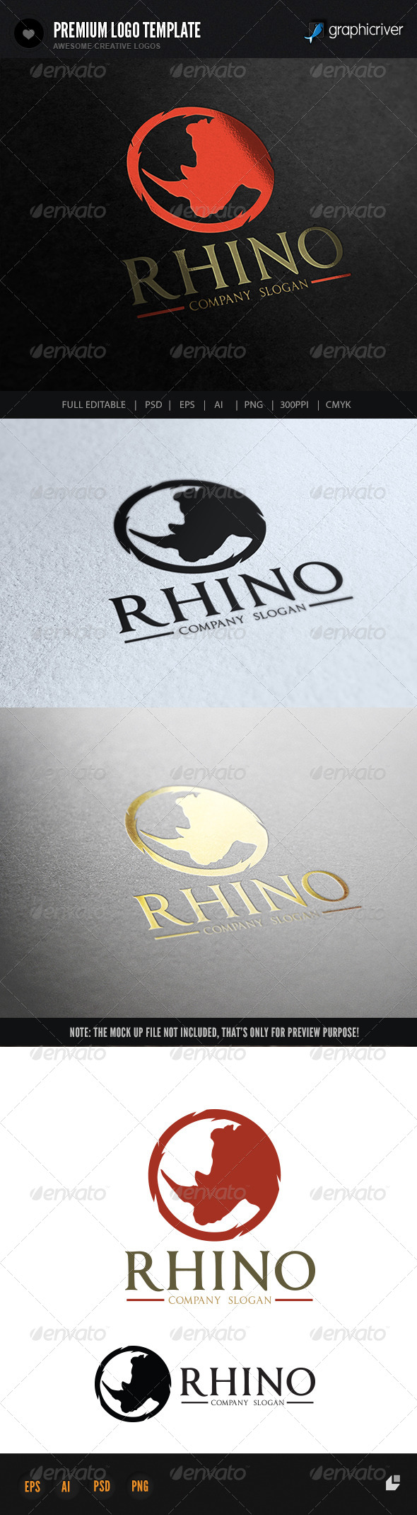 GraphicRiver Rhino 7324998