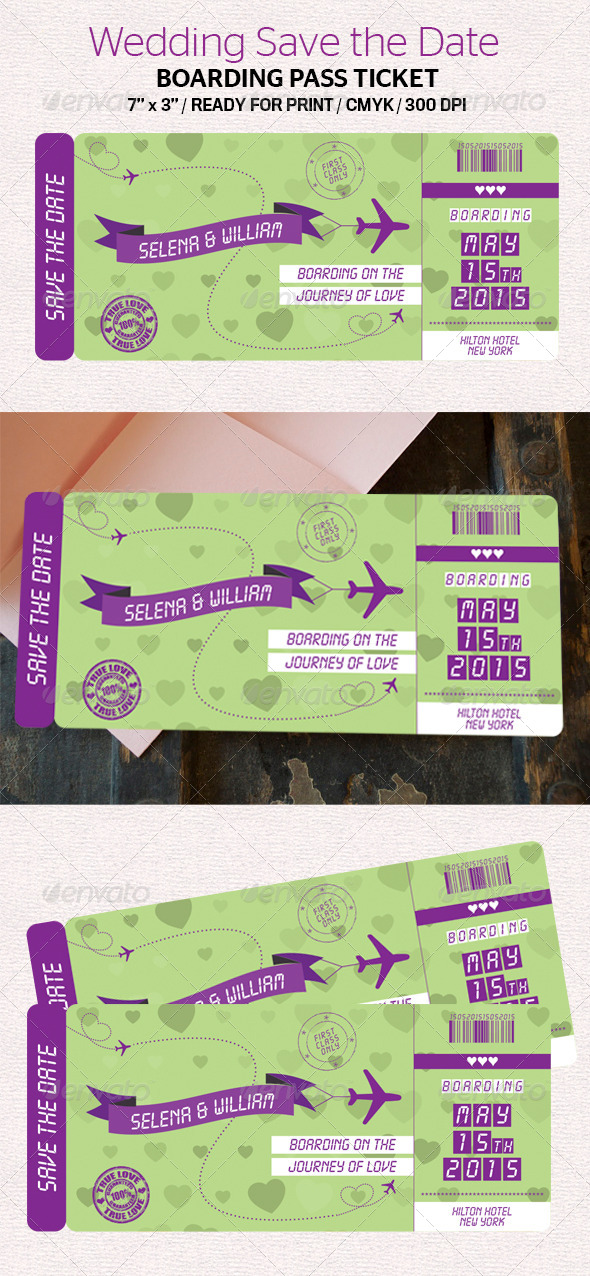 GraphicRiver Wedding Save the Date 7254128