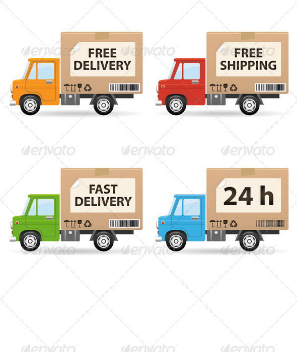 GraphicRiver Delivery truc 759990